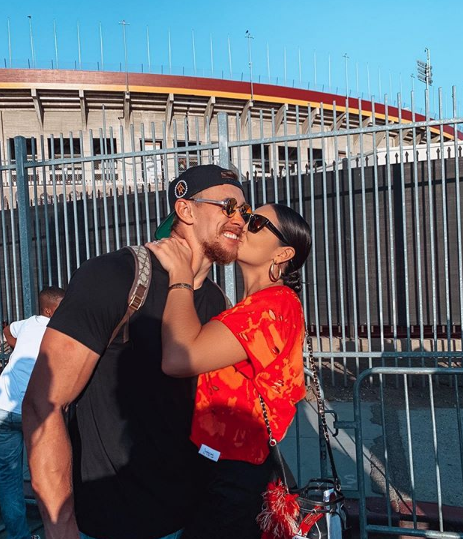 "George shares happy marriage trips with his beautiful wife ""data-caption ="" George shares happy marriage trips with his beautiful wife ""data-source ="" https://www.instagram.com/p/B35phyShOxk/"