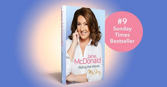 "Jane McDonald Books ""data-caption = ' My book"" Riding the Waves ""is number 9 on the Sunday Times bestseller list! Data-source ="" https://www.instagram.com/p / B4iUr3xnHYG / ""title = ' My book"" Riding the Waves ""is at number 9 on the Sunday Times bestseller list! ' style ="" width: 100%;"