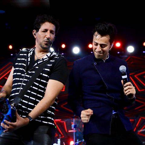 Salim Merchant in concert with his brother