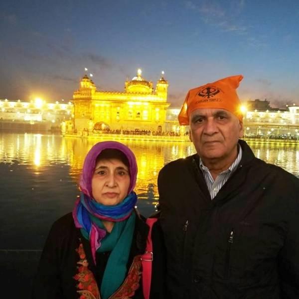 Neeti Palta's parents