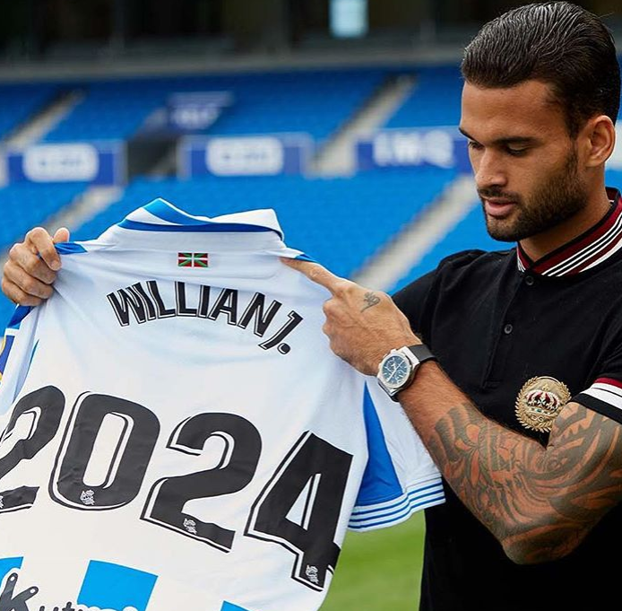 "Willian Jose Career ""data-caption ="" I am very pleased to renew our contract with @realsociedad. I just have to thank all of you in the club for their confidence and I hope that I can return with a lot of commitment and goals. Thanks also to @ un1que.football for the support and ""data-source ="" https://www.instagram.com/p/BoZkY0SApBV/"
