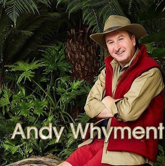 "Andy Whyment I'm a star ""data-caption ="" # imacelebrity ""data-source ="" https://www.instagram.com/p/B5H8GuGnbbI/"
