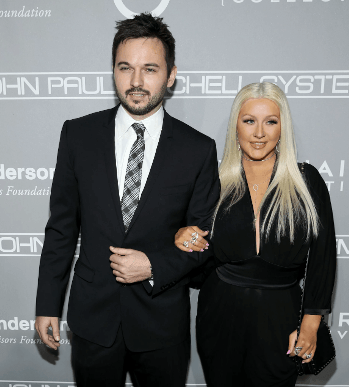 "Christina Aguilera and Matthew Rutler ""data-caption ="" Christina Aguilera and her husband Matthew Rutler ""data-source ="" https://me.popsugar.com/"