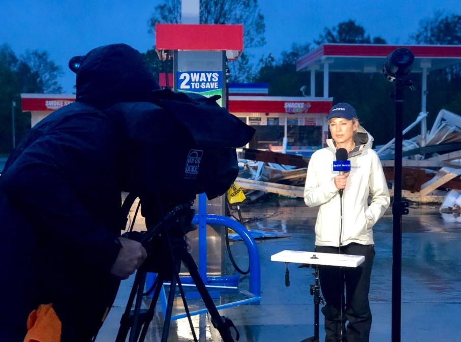 News anchor Amy Robach