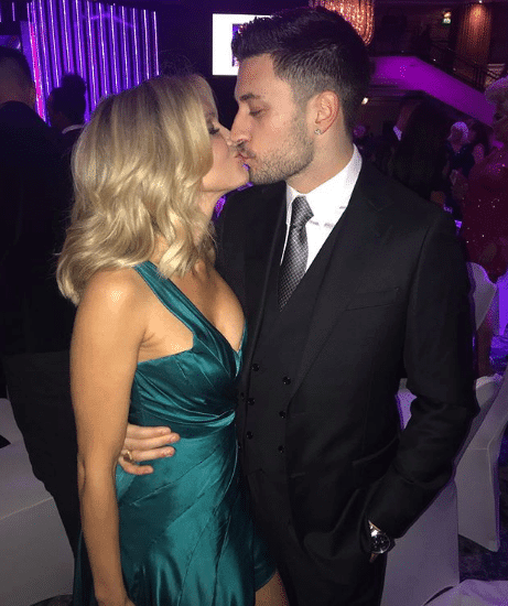 Giovanni is strictly dating celebrity Ashley Roberts