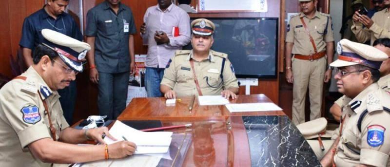 V C Sajjanar takes office as Police Commissioner in Cyberabad