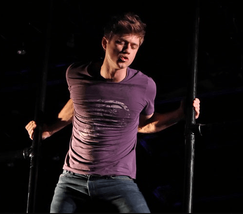 Actor Aaron Tveit