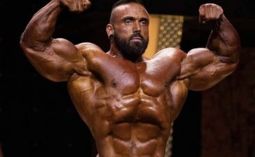 NEW DECADES: Professional bodybuilder Luke Sandoe has died