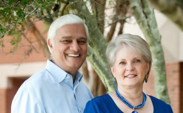 Ravi Zacharias and his wife Margarita Reynolds