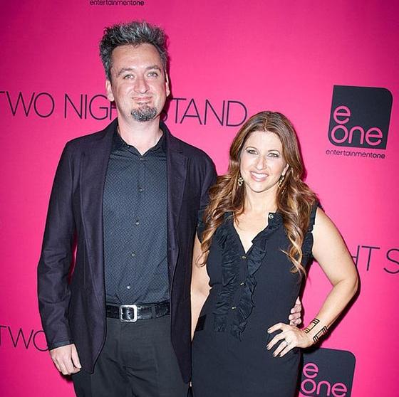 Rachel Nichols with her husband Max Nichols