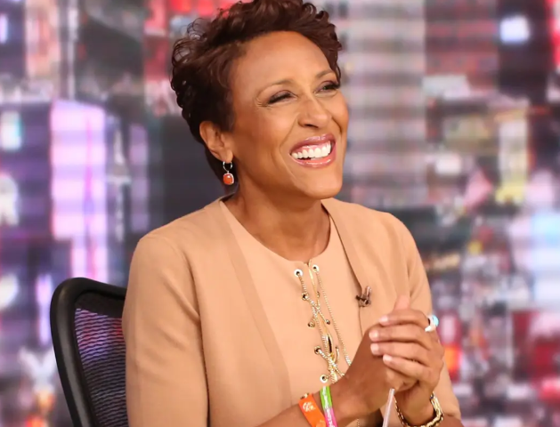 Robin Roberts, a famous TV Boradcaster