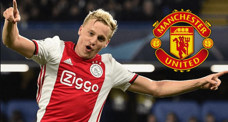 Manchester United signed Ajax's Donny van de Beek