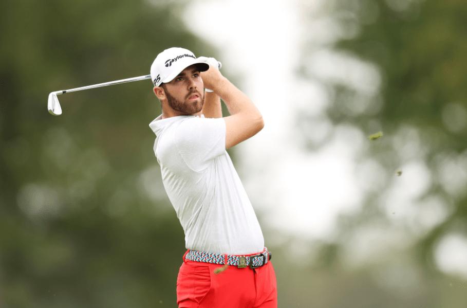 Matthew Wolff, a professional golfer