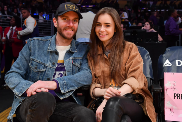 Charlie McDowell and his girlfriend Lily Collins