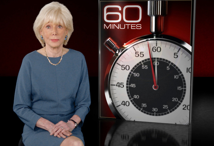 Lesley Stahl, reporter for CBS '60 Minutes'