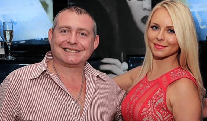 Lev Parnas with his wife Svetlana