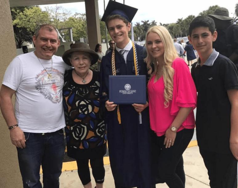 Svetlana Parna's family