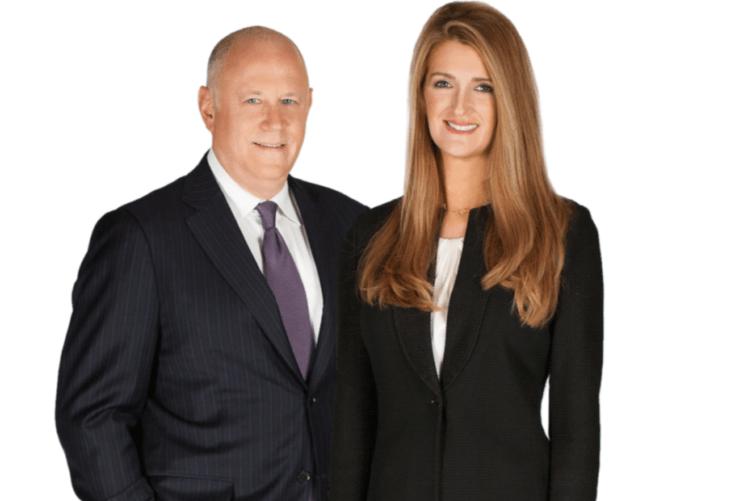 Kelly Loeffler with her husband Jeffrey Spokesman