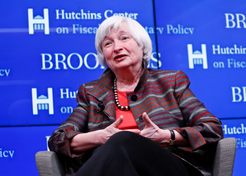 Janet Yellen, first woman to preside over the Federal Reserve Board governor