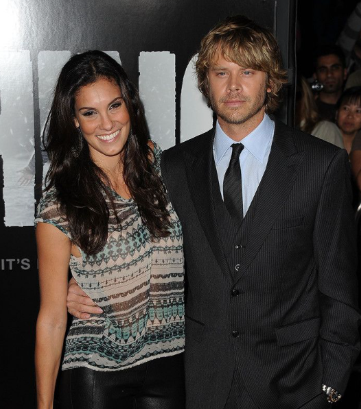 Daniela Ruah and her husband David Paul Olsen