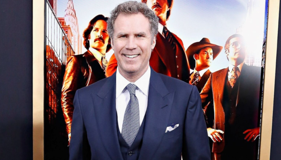 Will Ferrell was named Best Comedian of 2015 at the UK's GQ Men of the Year Awards