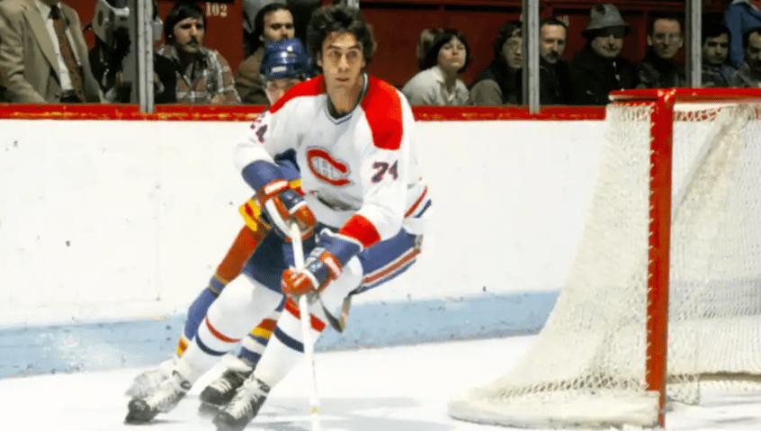 Former Canadian ice hockey defender Gilles Lupien