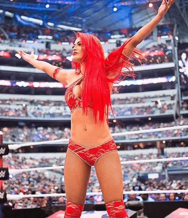 Natalie Eva Marie WWE Returns