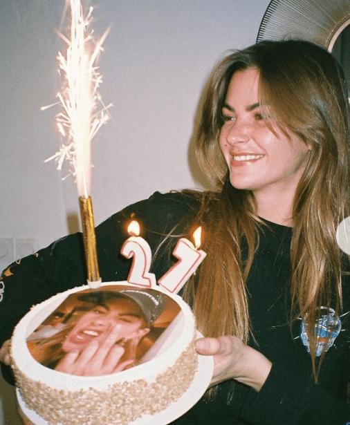 Clara Berry celebrated her 27th birthday