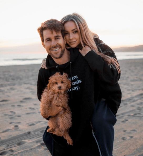 Charly Jordan and her ex-boyfriend Robert Graham