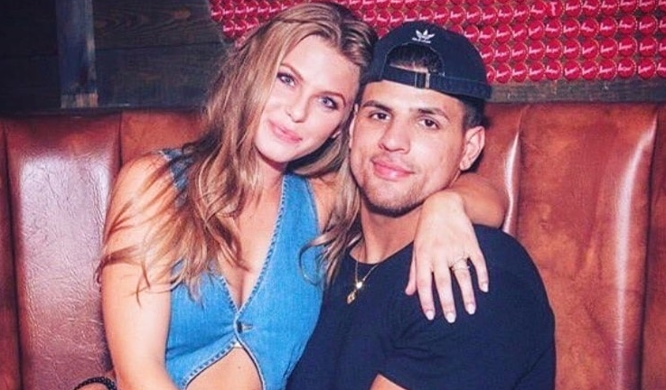 Faysal Shafaat and his ex-girlfriend Haleigh Broucher