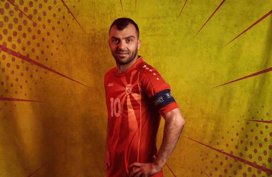 Professional footballer Goran Pandev