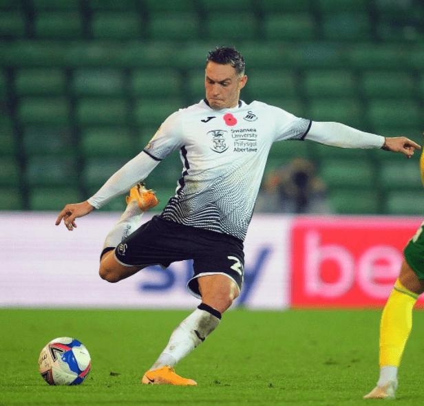 Welsh professional footballer Connor Roberts