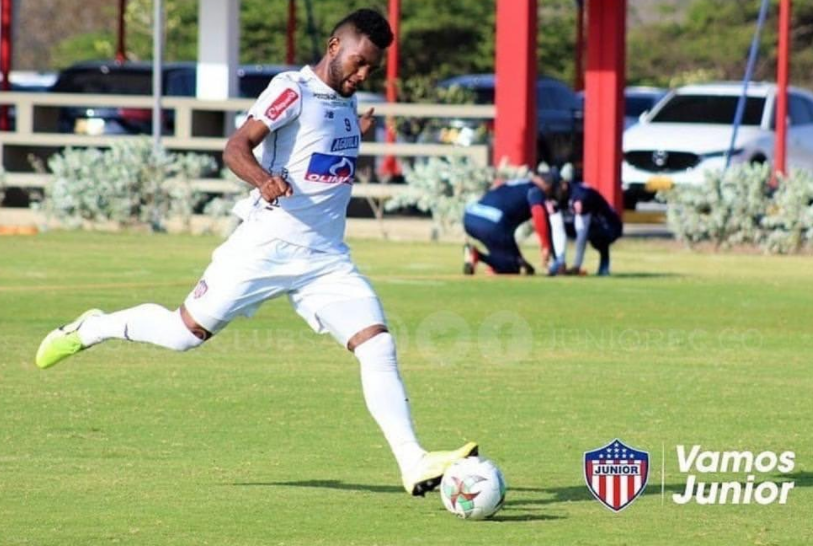 Miguel Borja currently plays for Club, Junior, on loan from Palmeiras