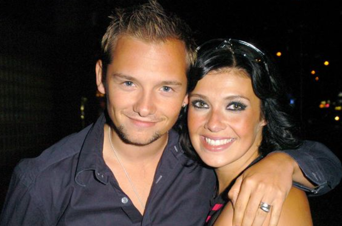 Jack Ryder and his ex-wife Kym Marsh