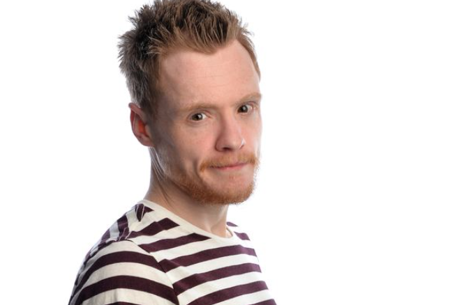 Andrew Lawrence, British comedian