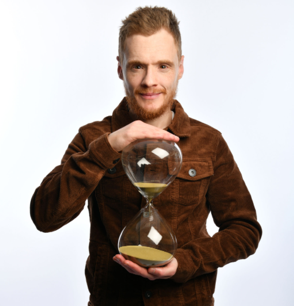 Andrew Lawrence began his stand-up career on a regular night of comedy