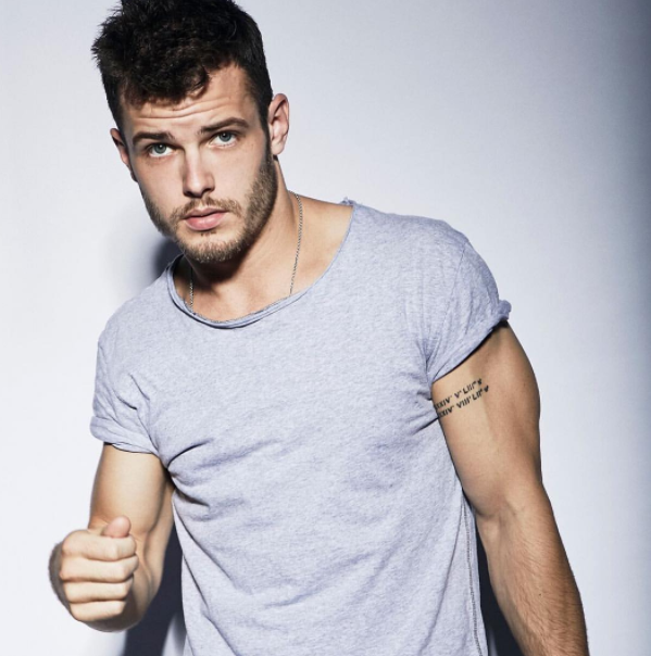 Actor and model, Michael Mealor