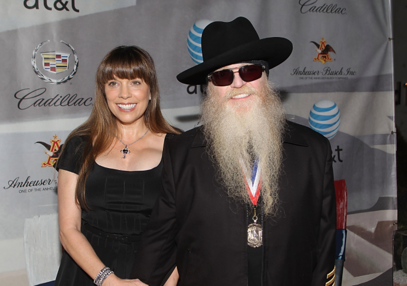 Dusty Hill and his wife Charleen McCrory