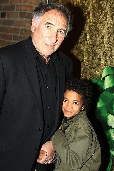 Judd Hirsch with his son, London Hirsch.