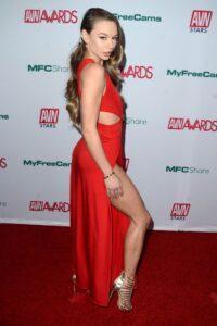 Naomi Swan at the AVN Awards.