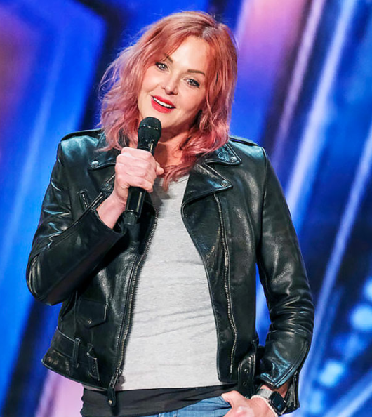Storm Large performed on America's Got Talent in 2021