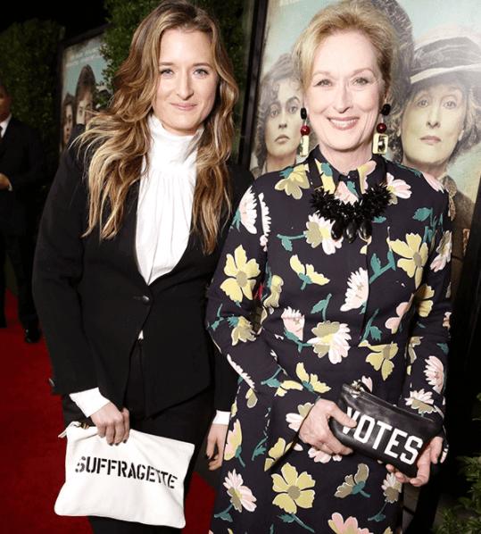 Grace Gummer and her mother Meryl Streep