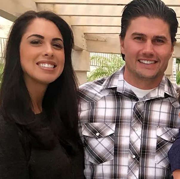 Joshua Hall and his ex-wife Chelsea
